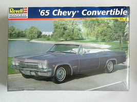 FACTORY SEALED '65 Chevy Convertible by Revell # 85-2533 - $57.41