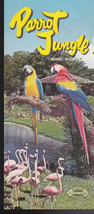 Parrot Jungle brochure- Miami Florida  1960s - $6.73