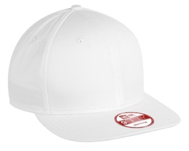 New Era 9Fifty Flat Brim Snapback Hat Cap Blank White 950 new - $12.00