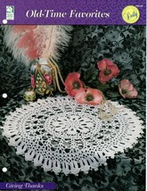 Crochet Pattern - Giving Thanks - Old-Time Favorites - House Of White Birches - $2.96