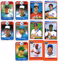 11 Assorted Topps & MSA Baseball Trading Collector Cards 1989-92 - $11.87