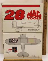 2 Travel Air Mystery Ship Airplane Diecast Bank #28 Mac Tool Allison Rac... - $32.71