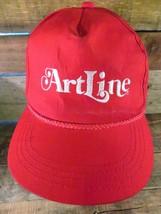 ARTLINE Vintage Red Snapback Adjustable Adult Hat Cap  - $19.79