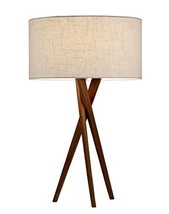 Adesso 3226-15 Table Lamp Brooklyn – Smart Outlet Compatible, Tripod Bas... - $145.81