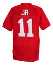 Junior Floyd #11 Little Giants Movie New Men Football Jersey Red Any Size image 2