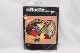 Bucilla Plastic Canvas 5987 Cornucopia Thanksgiving - $22.05