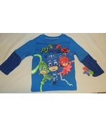New Unisex Toddler PJ Masks Shirt Disney Junior Size 2T 3T Blue Owlette ... - $12.99
