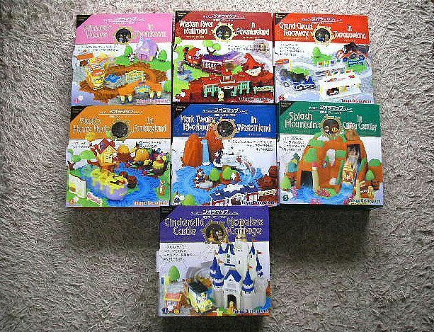 Tokyo Disney Land Diora Map Set Miniature And 50 Similar Items