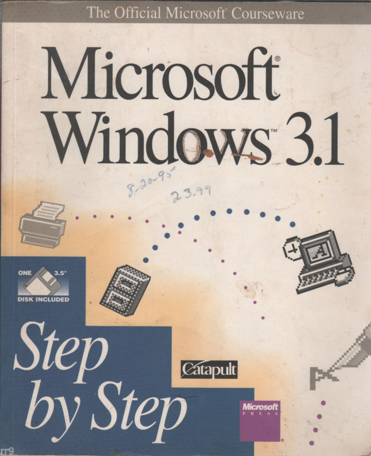 Primary image for Microsoft Windows 3.1 Step by Step by Inc. Staff Catapult (1992, Paperback)