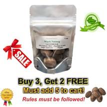 1oz Nutmeg 100% Pure Natural Organic Whole Spice Myristicaceae nuez moscada - $5.84