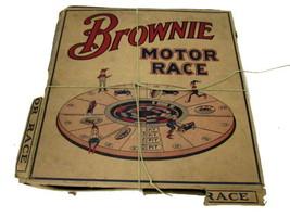 1920s M H Miller BROWNIE MOTOR RACE Game in Original Box - $189.95