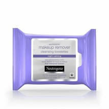 Neutrogena Makeup Remover Night Calming Cleansing Towelettes, Disposable Nightti - $5.89
