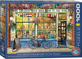 EuroGraphics The Greatest Bookstore in The World 1000 Piece Jigsaw Puzzle - $25.00