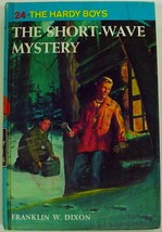 Hardy Boys The Short-Wave Mystery no.24 Franklin W. Dixon hardcover - $3.00