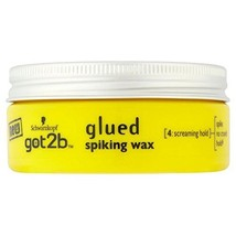 Schwarzkopf Got2b Glued Spiking Wax (75ml) - Pack of 2 - $21.73