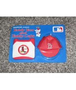 Applause Teddy Tees and Caps, BRAND NEW, SEALED St. Louis Cardinals - $7.69