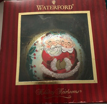 Waterford Holiday Heirlooms Christmas Ornament Dated 2006  Santa & Ms Cl... - $56.35