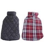 REXSONN Pet Dog Cats Cozy Windproof Jacket Winter Warm Apparel Grid Pla... - $21.75