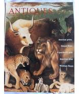 The Magazine Antiques Februray 1999 American Prints Edward Hicks Wickham... - $9.50