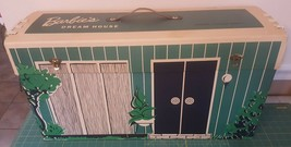 Vintage 1962 Cardboard MATTEL BARBIE'S DREAM HOUSE With Furniture & Acce... - $69.95