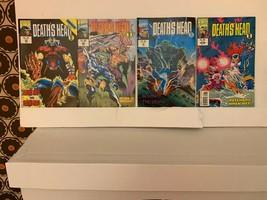 DEATH'S HEAD II (VOL. 2) MARVEL COMICS UK 1992-1994 VF 10 BOOK LOT FREE ... - $9.50
