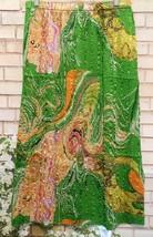 Skirt Magic Crush Satin Swirl Green OS (fit S-XL) - $17.10