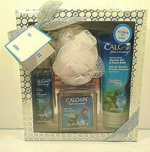 Calgon Morning Glory 4 Piece Bath Gift Set - $9.49