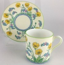 Wedgwood W2687 Brookside Flowers Demitasse cup & saucer - $25.00