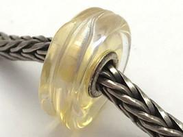 Authentic Trollbeads Murano Glass Honey Dawn Bead Charm 61402, New - $24.70