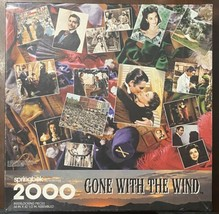 """SPRINGBOK Hallmark Gone With 2000 Piece Puzzle - Gone With The Wind 34"""" ... - $33.17"""