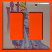 Cinderella Castle Toggle Rocker Switch Duplex Outlet Wall Cover Plate Home decor image 2