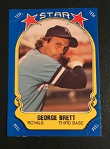 1981 Fleer Star Sticker George Brett  Baseball Card #116 - $2.48