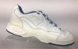 Brunswick Galaxy Women's Bowling Shoes Size 8.5 M White Blue - $26.87