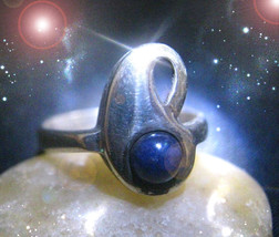HAUNTED RING WELLNESS PROTECTION ARMOR EXTREME MAGICK SECRET OOAK MAGICK  - $4,553.89