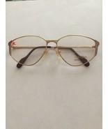 Pure Titan Alpina glasses frames Gold & Pink 3058306 56-14-135 Discolore... - $55.00