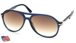 NEW PERSOL 3194-S 1074/51 BLUE SUNGLASSES FRAME 59-15-145mm 2N B49mm ITALY - £127.56 GBP
