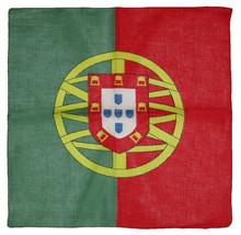 "22""x22"" Portugal Country 100% Cotton Bandana - $6.88"