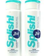 2 Zest Splish Micellar Vitamin E Aloe Aqua Fresh Hydration Body Wash 18F... - $17.99