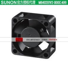 Original SUNON fan MB40201V2-000C-A99 12V 0.05A 2 months warranty - $23.45