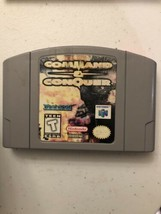 Nintendo 64 video game Command & Conquer We have a lot! Bundle to save N64 - $13.51
