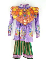 Disney Alice Looking Glass Asian Look Deluxe Costume NWT Size  Girls Med/ 7-8 - $16.82