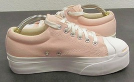 CONVERSE WOMEN'S (4.5) JACK PURCELL PINK CANVAS OLD SCHOOL LOW PROFILE S... - $62.87