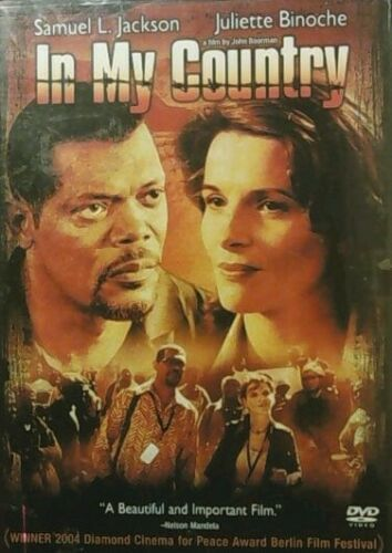 Primary image for In My Country - Samuel L. Jackson Juliette Binoche - DVD WS - FREE Shipping USA