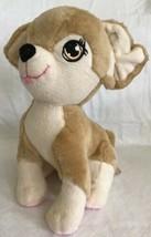 2014 Mattel Barbie Tan Cream Puppy Dog Plush Just Play Stitched Chihuahu... - $9.99