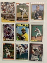 Pittsburgh Pirates Baseball Cards Lot of 48 From 1981 to 2007 Topps Barr... - $7.00