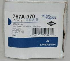 White Rodgers 767A-370 Hot Surface Ignitor Silicon Carbide image 5