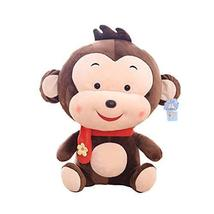 PANDA SUPERSTORE Baby Doll Little Monkey Doll Pillow Birthday Gift Cute Plush To
