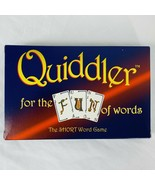 Quiddler Card Game Set Games The Short Word Game For The Fun Of Words Ne... - $14.25