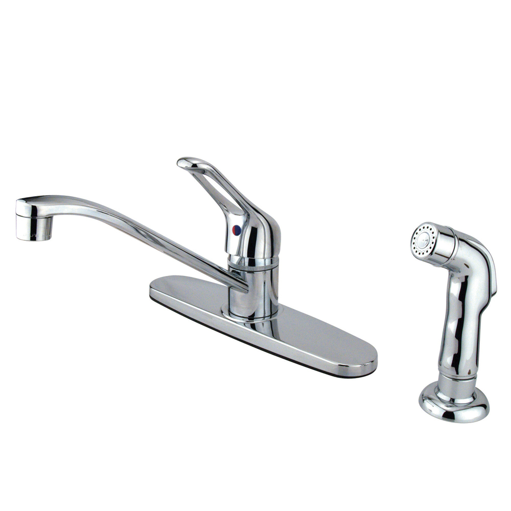 Primary image for Wyndham Single Handle Kitchen Faucet With Chrome Sprayer
