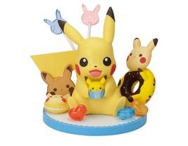 Pokémon Tea Party Pikachu Figure Pikachu's Sweets Collection BANPRETO Gift - $58.91